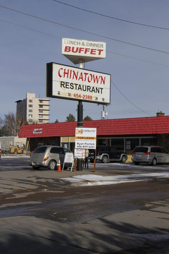 The Chinatown Restaurant behind the Dairy Queen on Fox Farm Road is near the MainStay Inn and Suites now under construction.
