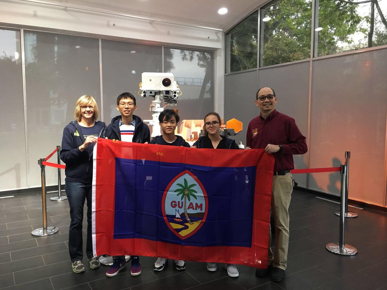 John F. Kennedy High School robotics and pre-engineering students were invited to participate in the 20th annual Jet Propulsion Laboratory (JPL) Invention Challenge Upright Pipe Contest finals sponsored by the JPL near Pasadena, CA. on Dec. 14, 2018. John F. Kennedy High School placed fifth out of 15 in the JPL employee category.