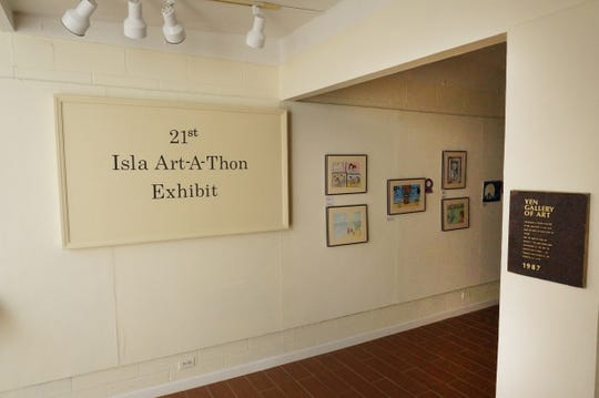 Guam's 21st annual Art-a-thon Exhibit starts Thursday, Jan. 31, in the Dean's Circle at the University of Guam.