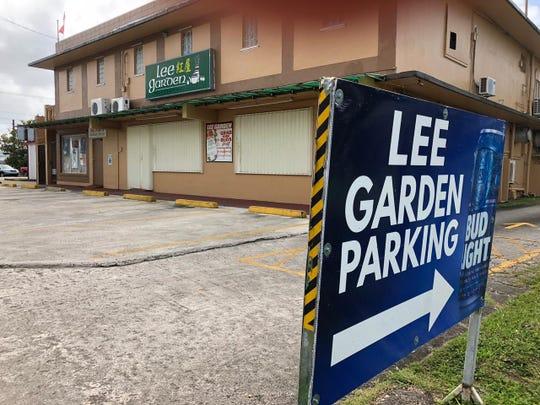 Lee Garden is shown in this Jan. 31, 2019 photo. The Dededo restaurant was shutdown after a pest infestation.