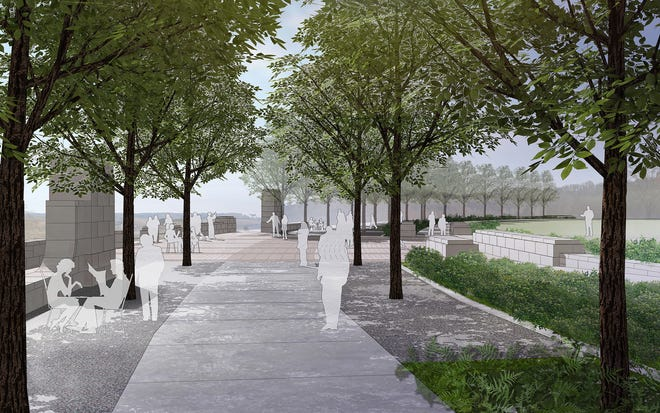 Lakeshore Park Begins 3m Project For Hgtv Overlook Plaza