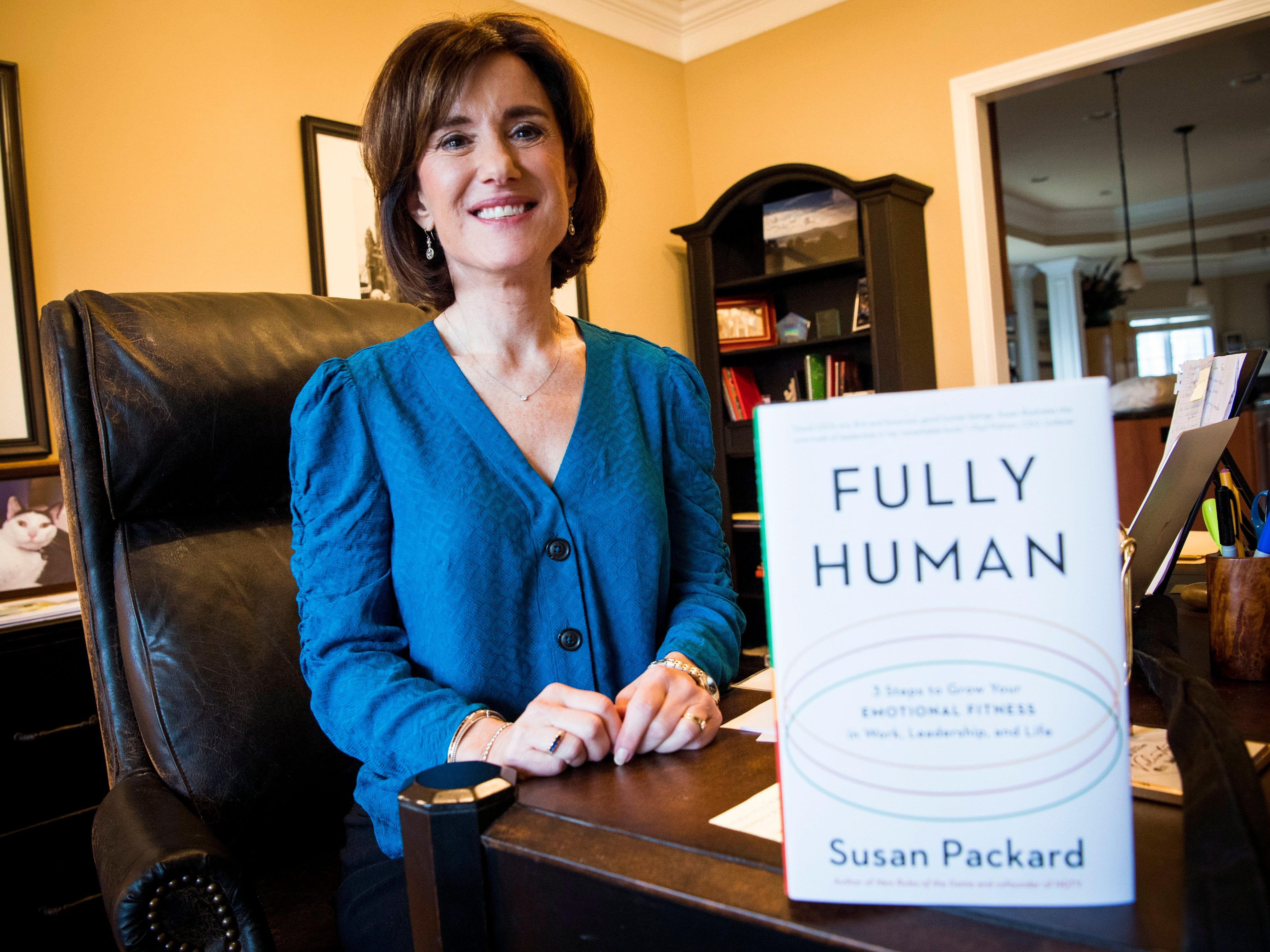 """Susan Packard, co-founder and former COO of HGTV, is the author of the book """"Fully Human,"""" which is set to be released in February 2019."""