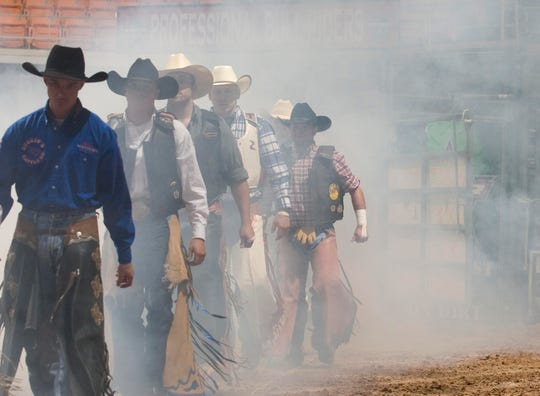 The Professional Bull Riders' Velocity Tour Knoxville Invitational is Saturday.