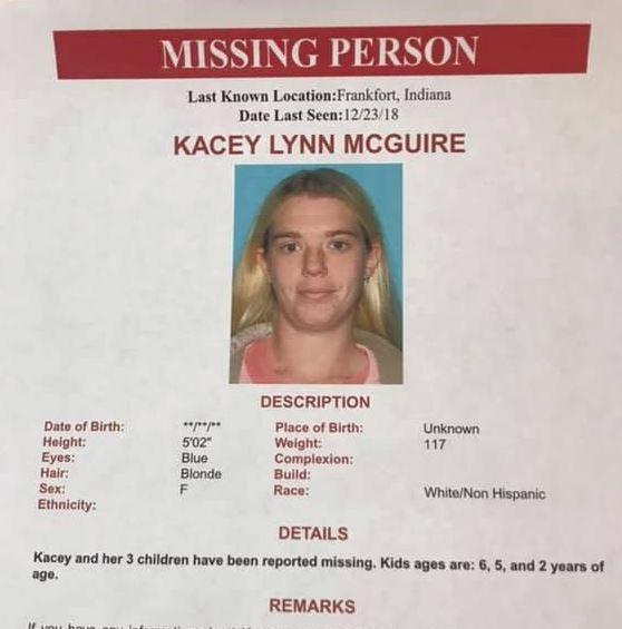 UPDATE: Missing Frankfort mother and her children found safe
