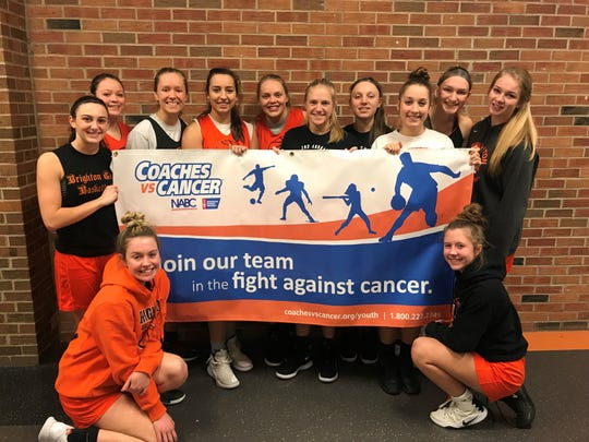 Brighton's undefeated girls basketball team will host a Coaches vs. Cancer fundraiser Friday against Howell.