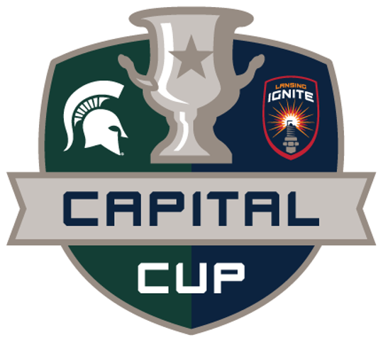 The Lansing Ignite will take on the Michigan State men's soccer team in an annual competition called the Capital Cup. The first meeting will be on Tuesday, April 16, 2019, at Cooley Law School Stadium.