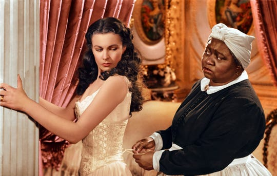 "Vivien Leigh and Hattie McDaniel each won an Oscar for ""Gone With the Wind."""