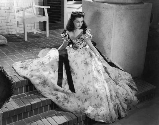 """Vivien Leigh won the Best Actress Oscar for her portrayal of Scarlett O'Hara in """"Gone With the Wind."""""""