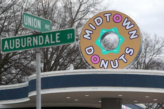 Midtown Donuts on Union Avenue Thursday, Jan. 31, 2019.