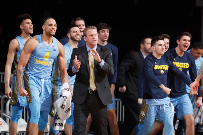 Marquette head coach Steve Wojciechowski will try to take down Big East leader Villanova on Saturday.