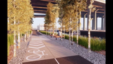 Construction could begin next year on an extension of Milwaukee's RiverWalk into the Menomonee Valley. It will have a more natural feel.