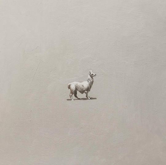 Amy O'Neill's one-inch llama.