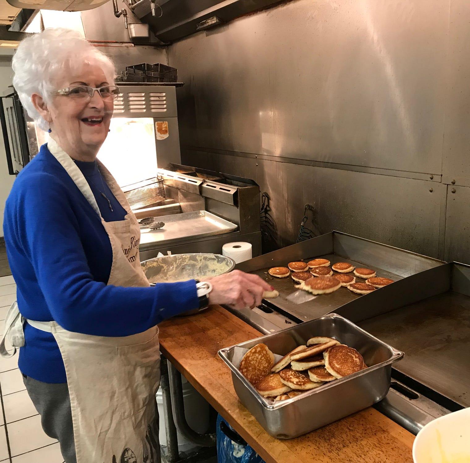 Dairy King matriarch Thelma Jones fries her...