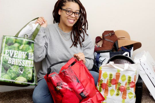 "LaSheena Taylor's ""Tidying Up"" exercises have resulted in her taking several carloads of items to Goodwill."
