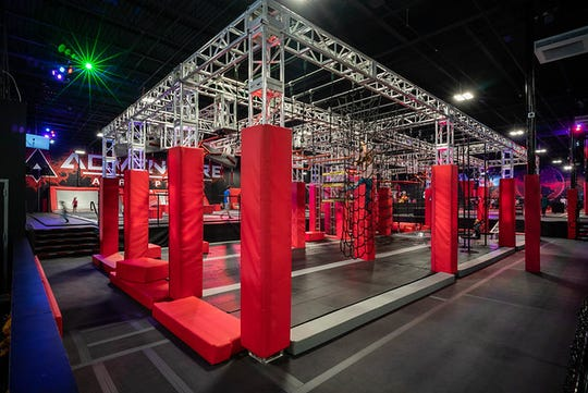 "The ""Ninja Warrior"" obstacle course in Rock Hill, S.C., that will be part of Adventure Air Sports concept coming to Mt. Juliet."