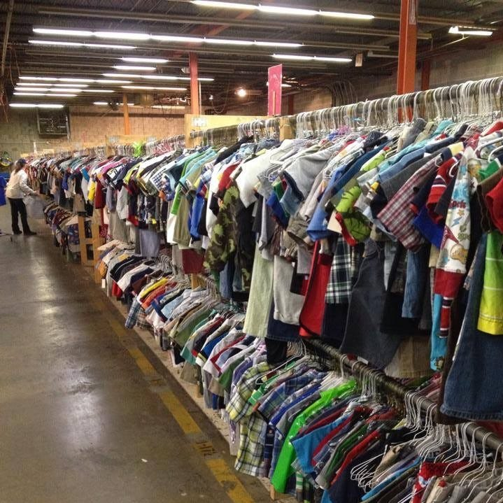 The Encores consignment sale offers row upon row...