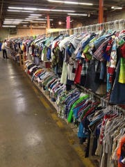 The Encores consignment sale offers row upon row of children's clothes, arranged by gender and size and sold at deep discounts from retail prices.