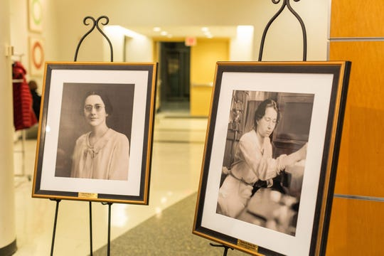 "Portraits of Dr. Anna Bowie and Thelma ""Byrd"" Bowie were unveiled at a reception at Vanderbilt University Medical Center on Dec. 17, 2019"