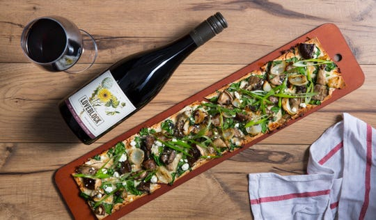 On Feb. 11, Seasons 52 will offer a special leading up to Valentine's Day that includes a glass of Loveblock pinot noir and a flatbread for $15.