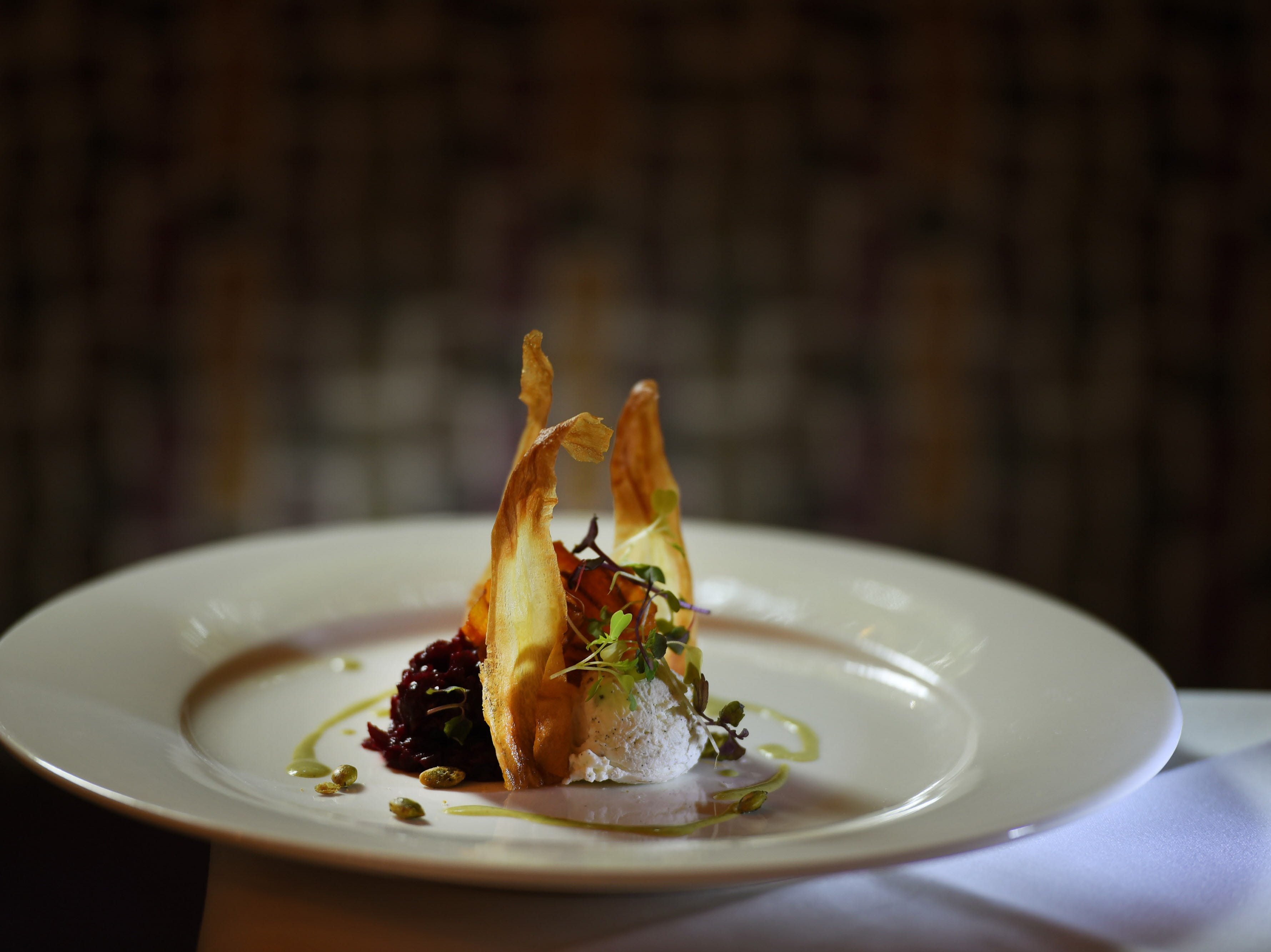 Beet tartare at Cafe Matisse