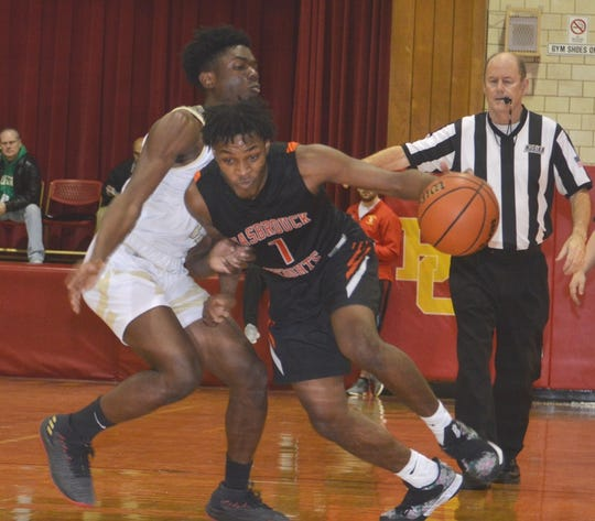 Hasbrouck Heights senior Anthony Palmer (right) scored 1,192 career points.