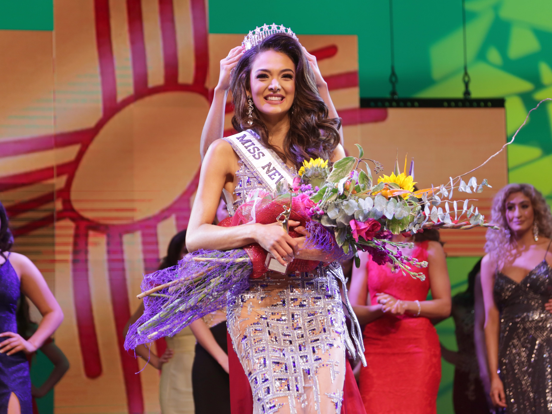 "Miss Las Cruces Alejandra ""Allie"" Gonzalez was crowned Miss New Mexico USA 2019 Sunday, Jan. 27."
