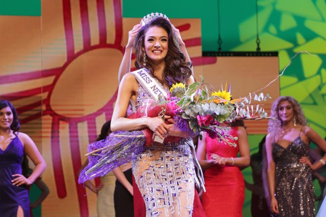 "Miss Las Cruces Alejandra ""Allie"" Gonzalez was crowned Miss New Mexico USA 2019 Sunday, Jan. 27."