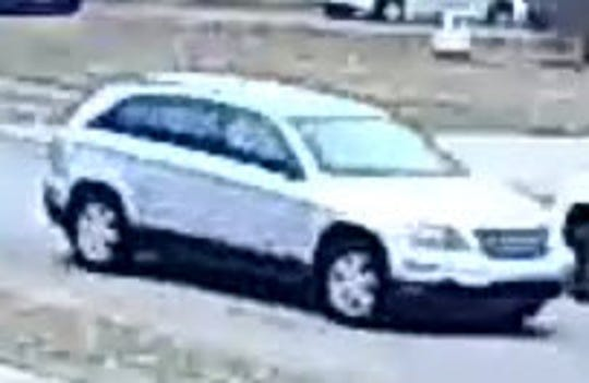 Westland Police are seeking the public's help in identifying the owner of this vehicle in connection with the disappearance of a Husky/shepherd mix puppy in December.