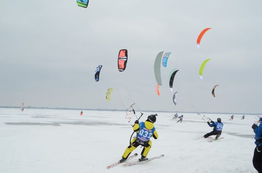 Fond du Lac will host the World Ice and Snow Sailing World Championship Feb. 4-9.