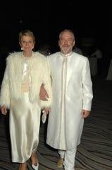 Honoree Donna MacMillan and Bill Nicholson.