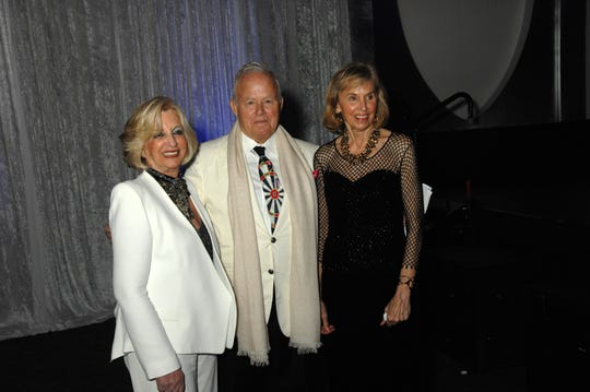 (l-r) Gala Sponsor Helene Galen, Steve Maloney, Chairman of the Board of Trustees of the Museum, and Gwendolyn Weiner, Museum Trustee and Honorary Gala Chair.
