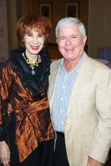 Sinatra Board Member Carole Haes and husband Dale Landon
