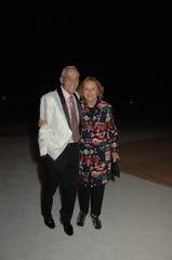 Honorees David Kaplan and Faye Sarkowsky.