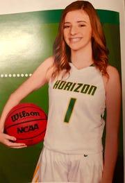 Sedona Anderson of Scottsdale Horizon girls basketball team
