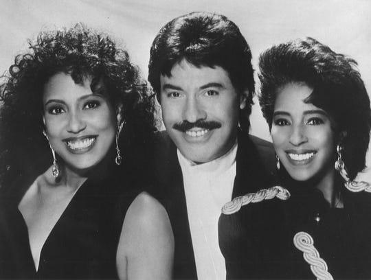 Telma Hopkins (from left), Tony Orlando and Joyce Vincent Wilson form Tony Orlando and Dawn.