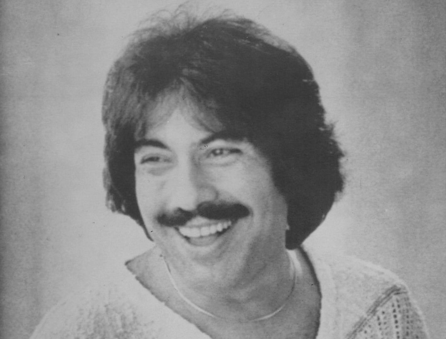 Tony Orlando is seen in 1977.
