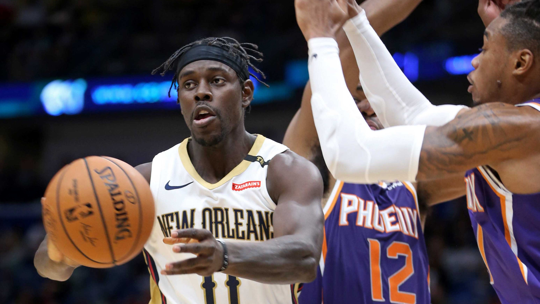 ba86a86360b Jrue Holiday trade rumors  Phoenix Suns want New Orleans Pelicans star