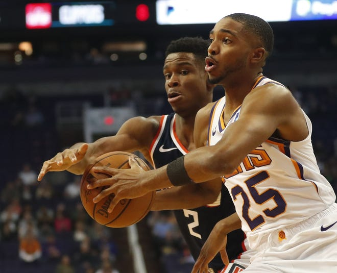 Suns forward Mikal Bridges leads all rookies with 77 total steals and is ninth overall in the NBA.