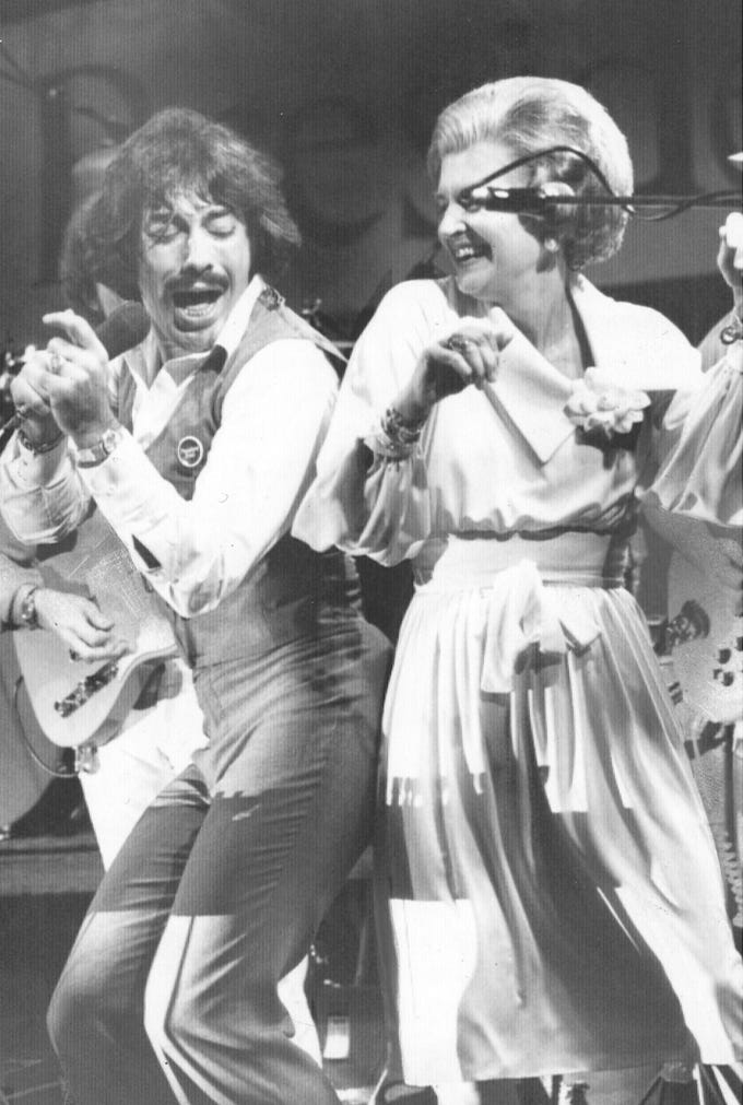 Everybody seemed to love Tony Orlando in 1976, including first lady Betty Ford, who once danced with the singer.