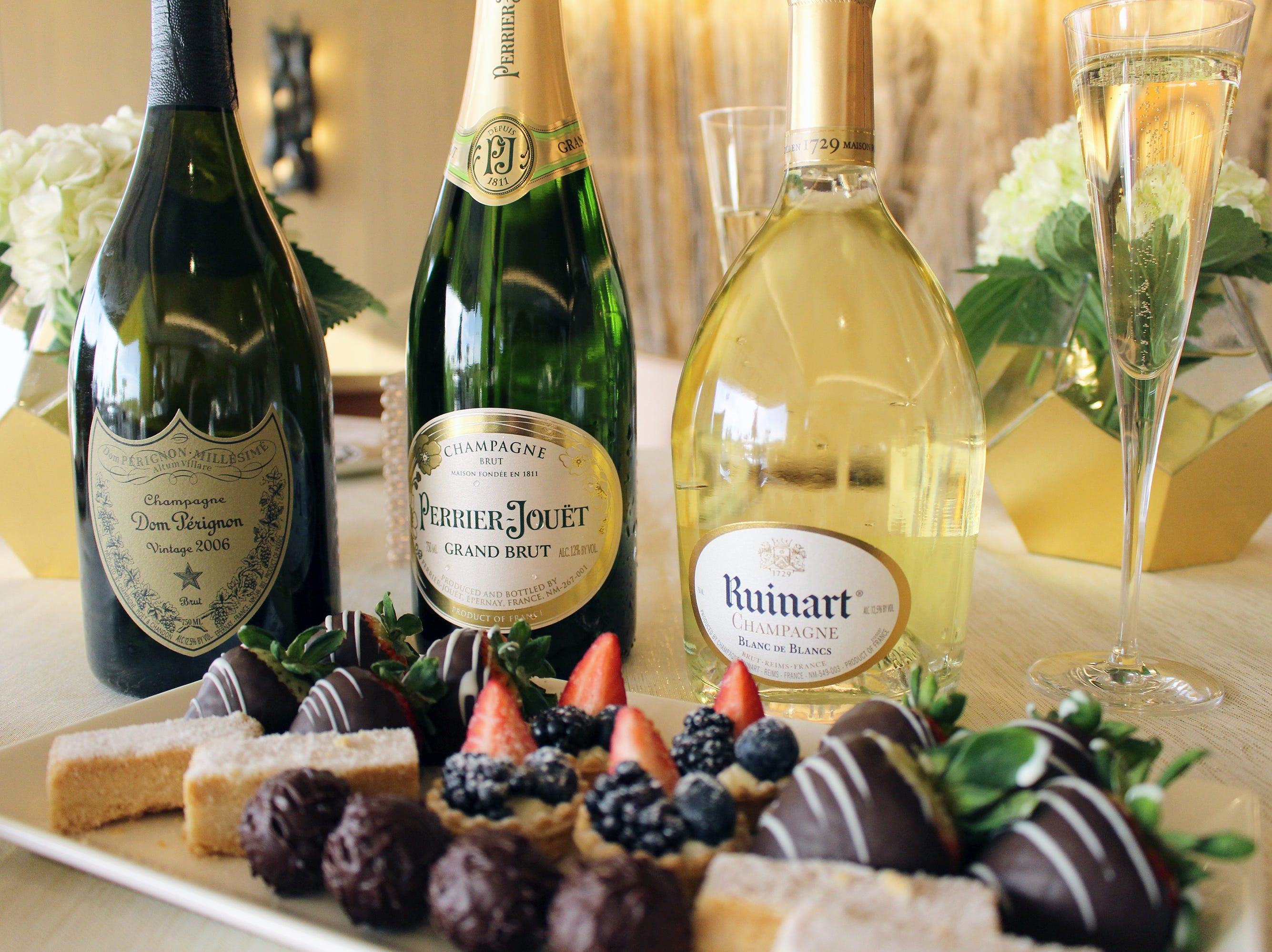 The Phoenician will launch Champagne Saturdays in February. Guests to the luxury resort's tea room will enjoy champagne paired with a three-course menu of small bites.
