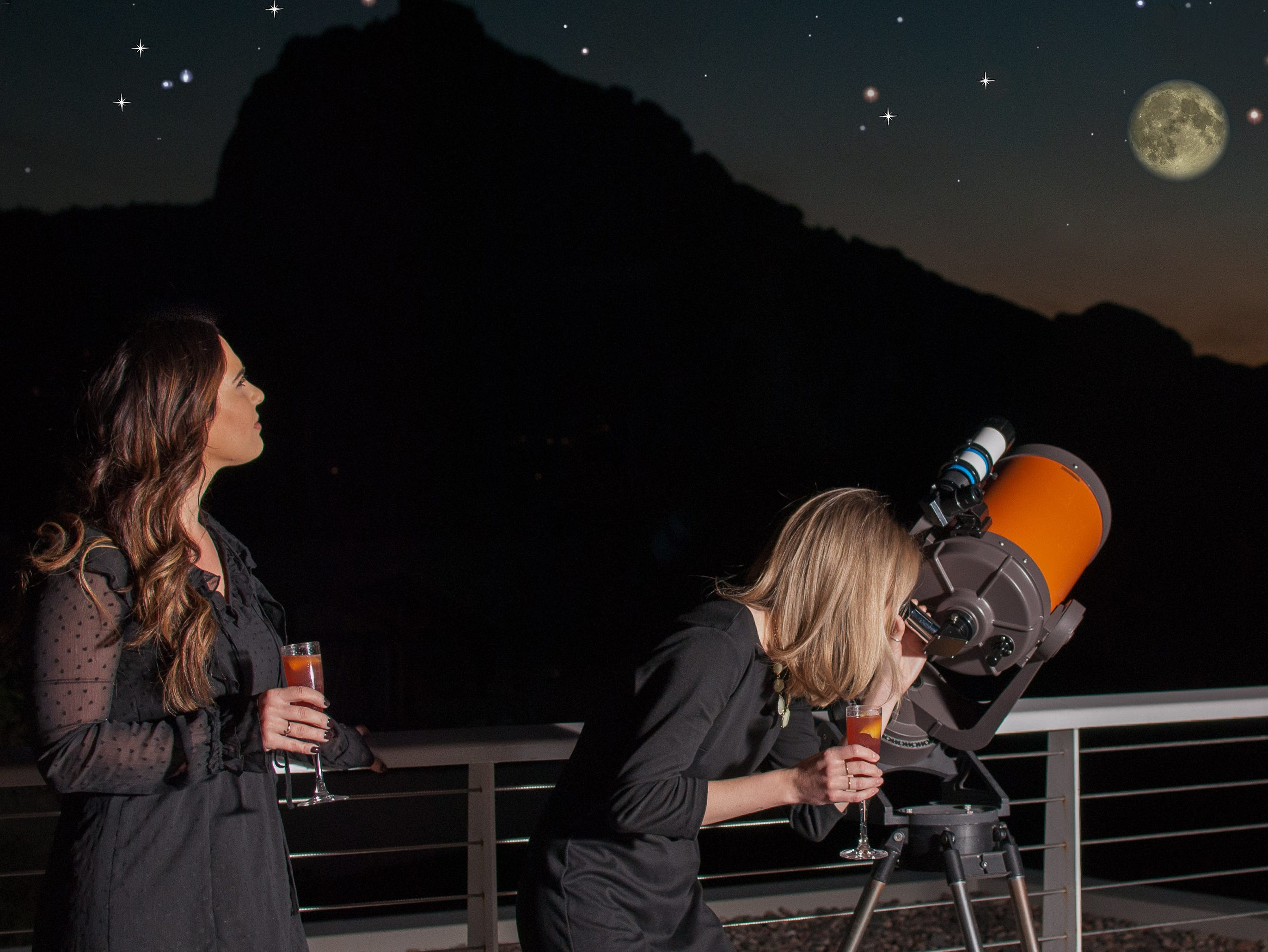 Cocktails under the Stars at Mountain Shadows