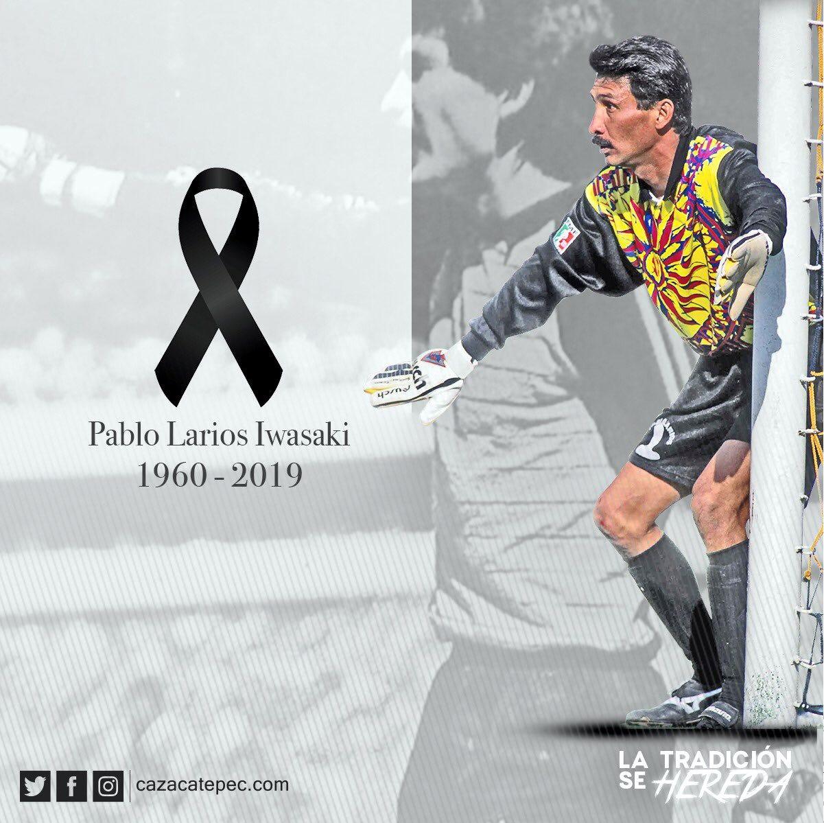 Fallece Pablo Larios, ex arquero de selección mexicana