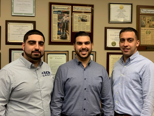 Daniel, Joseph and Domenico Lepore, sons of Joe and Maria Lepore, owners of LCS Facility Group, were selected as the recipients of the Next Generation Award by The Dutchess County Regional Chamber of Commerce.