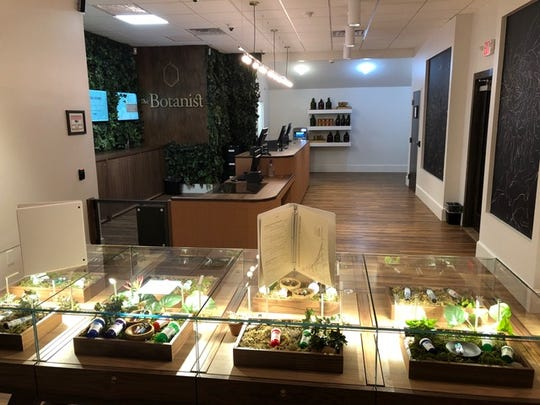 The Botanist, an Acreage Holdings medical marijuana dispensary, in Middletown