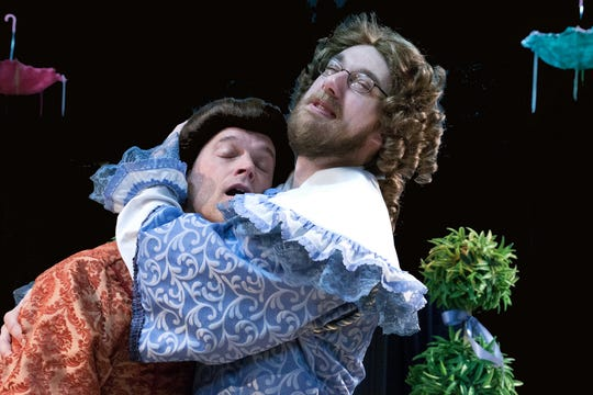 """Andrew Smith and Justin Nicholas star in """"The Liar"""" at DreamWrights Center for  Community Arts."""