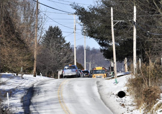 The York County Coroner was called to a school bus crash in Conewago Township on the morning of Jan. 31, 2019, according to York County 911. Coroner Pam Gay confirmed a woman driving a car that crashed with the school bus died.