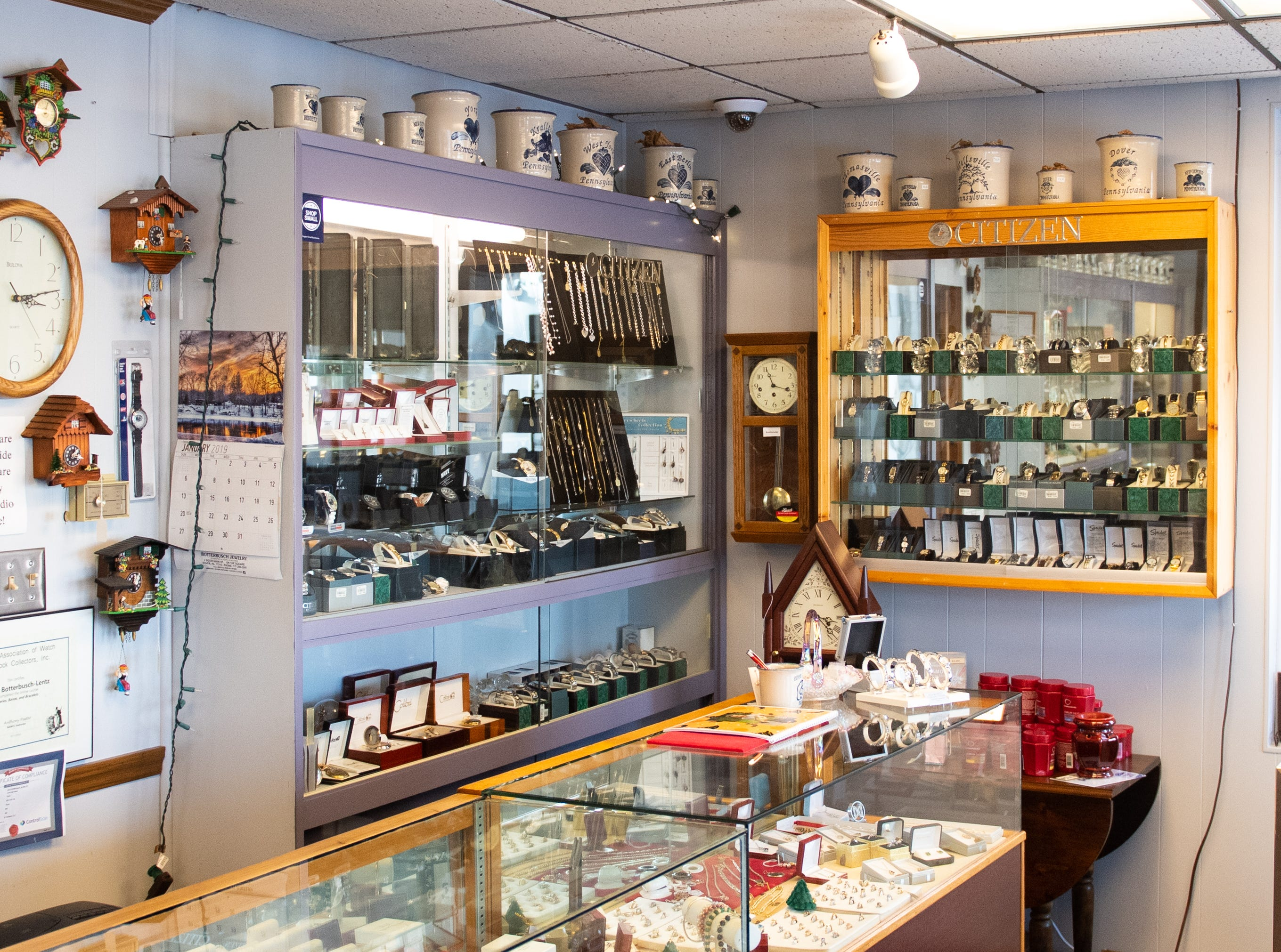 Botterbusch Jewelry has been the go to place for those living in Dover since the 1960s, January 30, 2019.