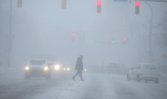 Snow on Thursday, Jan. 30