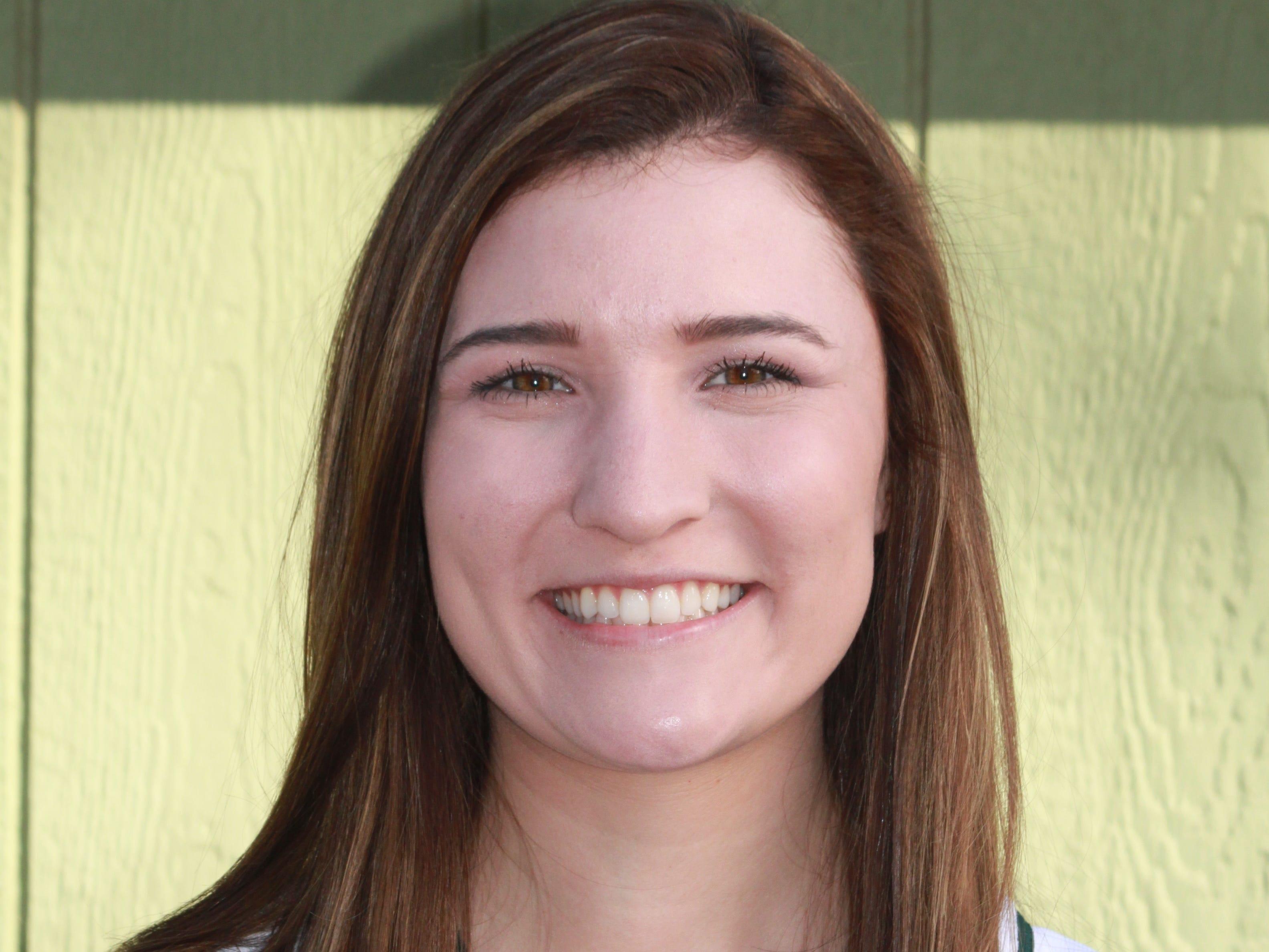 Photo of Shasta College softball player Marissa Hopkins