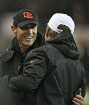 Former Oregon State head coach Mike Riley was able to keep the Beavers competitive for years despite not having highly rated recruiting classes.